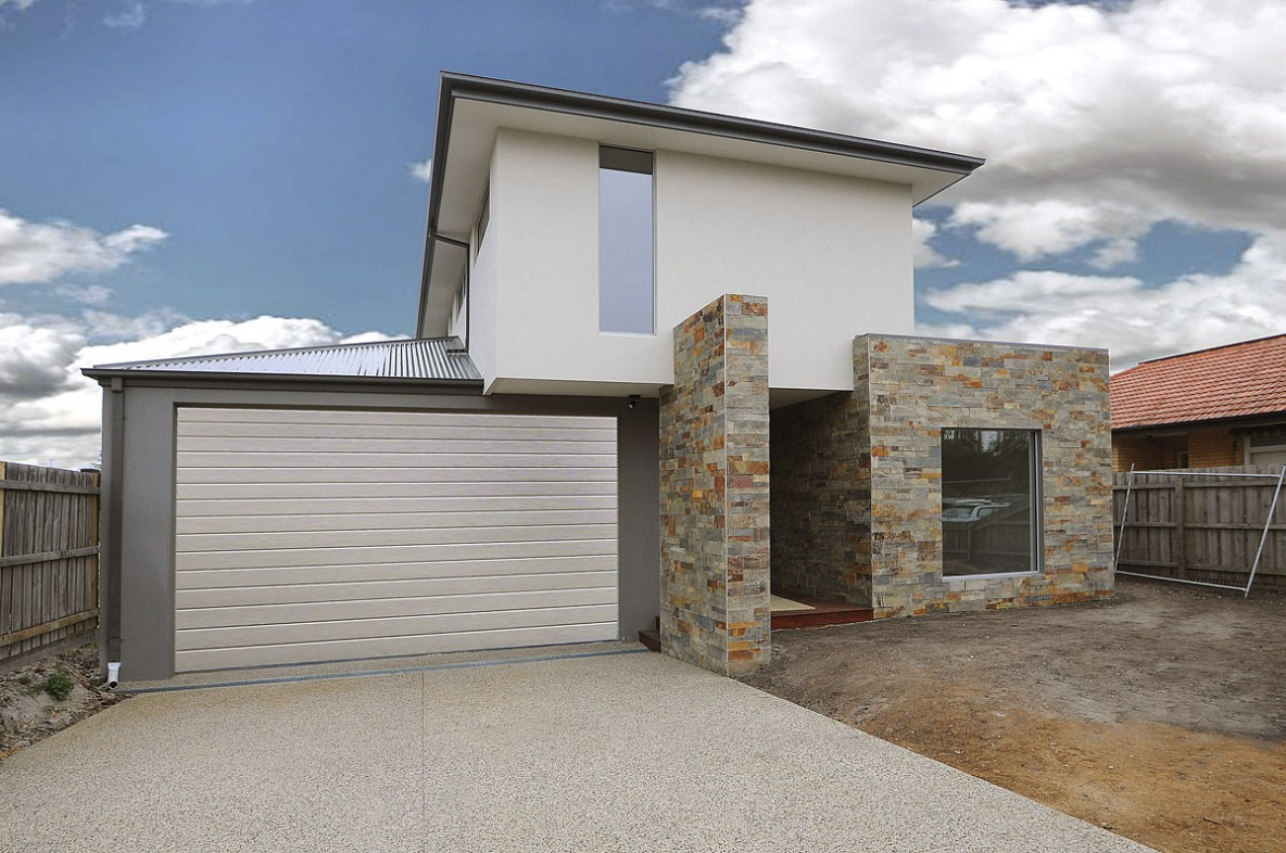Aspendale new home double story luxury render brick