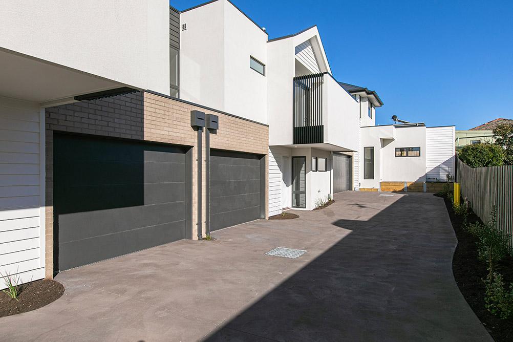 Unit development Edithvale, double storey
